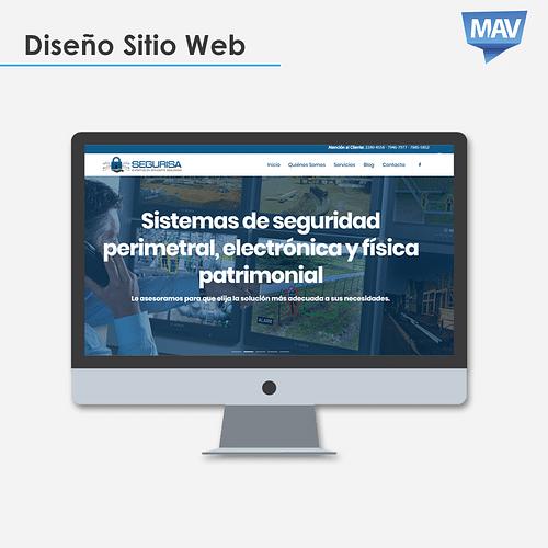 Diseño Web Segurisa - Creación de Sitios Web
