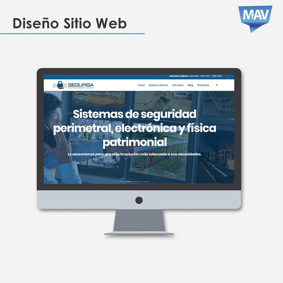Diseño Web Segurisa