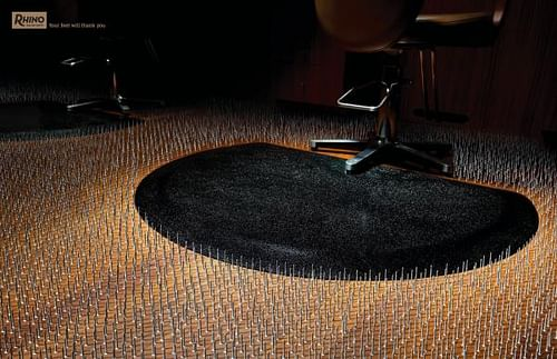 Floor Nails - Advertising