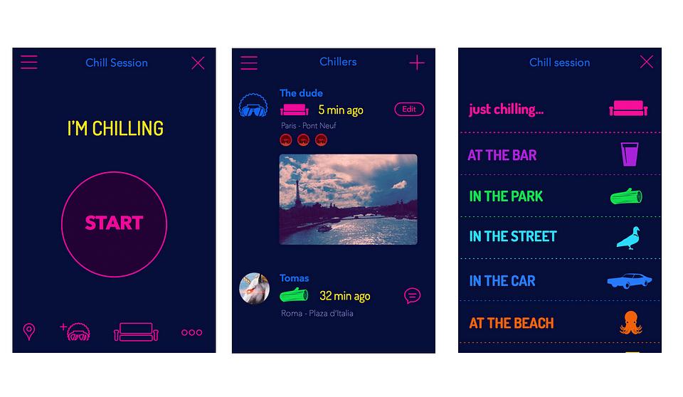 iOS application - Chillkeeper
