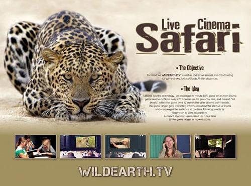 LIVE CINEMA SAFARI - Advertising