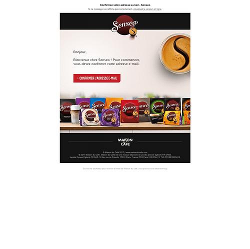 Senseo - Publicité en ligne