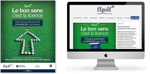 Make Golfers get a license every year - Image de marque & branding