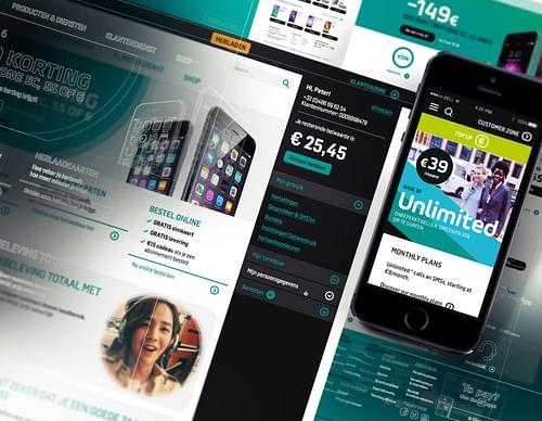 The BASE.be Online Platform - Website Creatie