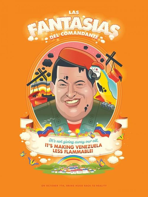 Las Fantasias?as del Comandante Poster Series - Advertising