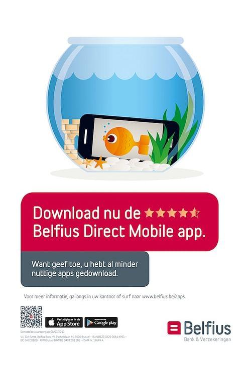 Belfius Direct App Mobile Campaign - Reclame