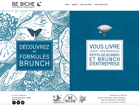 BE BICHE BRUNCH - SITE WEB