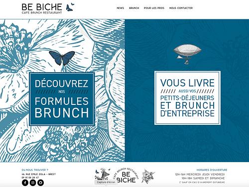 BE BICHE BRUNCH - SITE WEB - Branding & Positioning