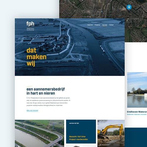 FPH Ploegmakers - Website Creatie