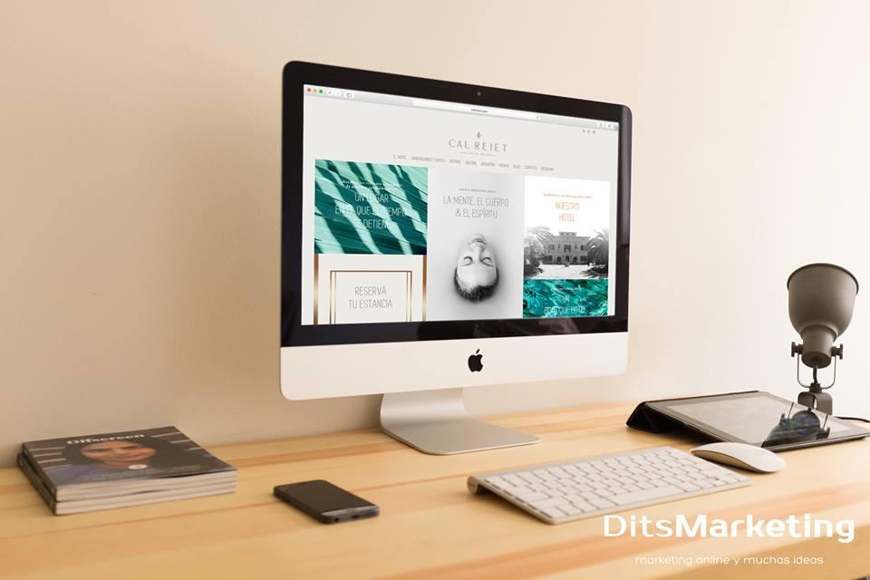 Cal Reiet website - Creación de Sitios Web