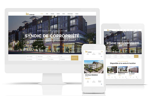ITA Immobilier - Stratégie digitale
