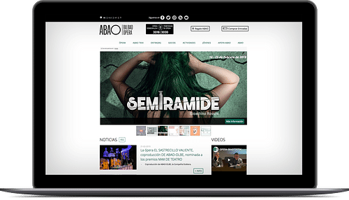 Página Web para Abao Olbe - Aplicación Web