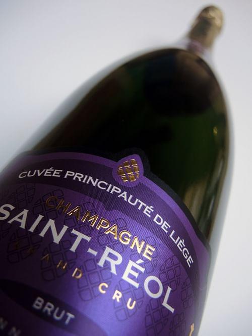 """PACKAGING CHAMPAGNE """"CUVÉE PRINCIPAUTÉ DE LIÈGE"""" - Image de marque & branding"""