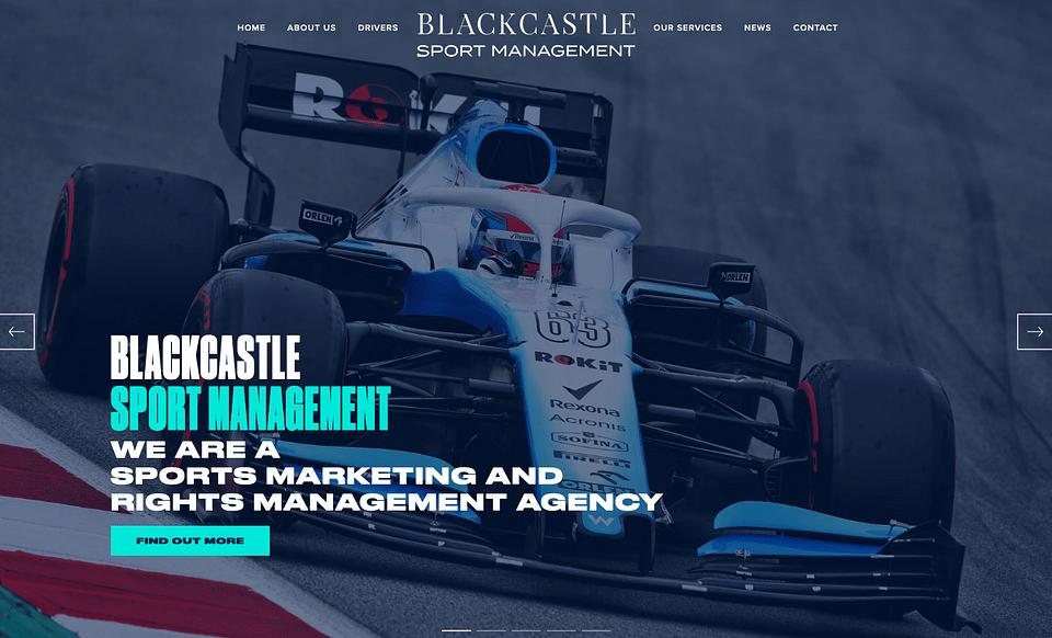 Página Corporativa - Agencia de Motorsport y F1