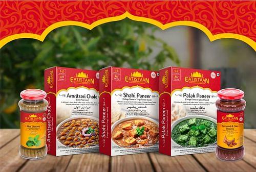 Fazlani Foods new brand Eatistaan - Ergonomy (UX/UI)