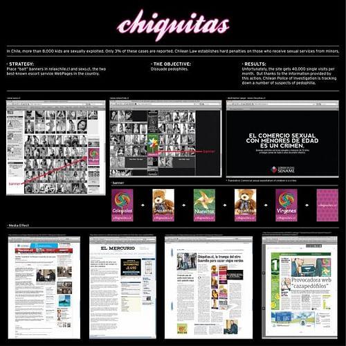 CHIQUITAS - Publicidad