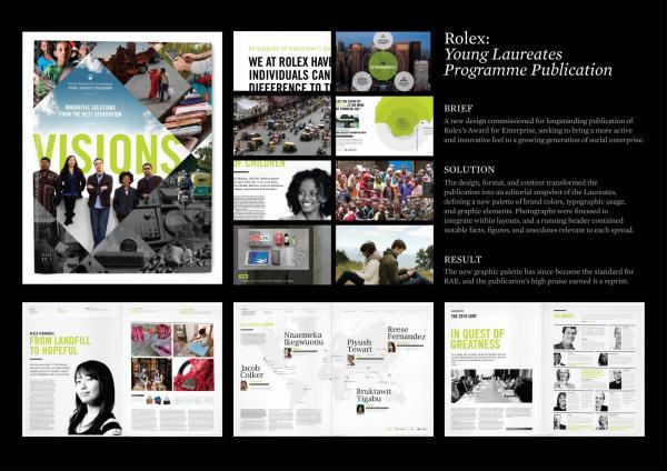 ROLEX YOUNG LAUREATES PUBLICATION