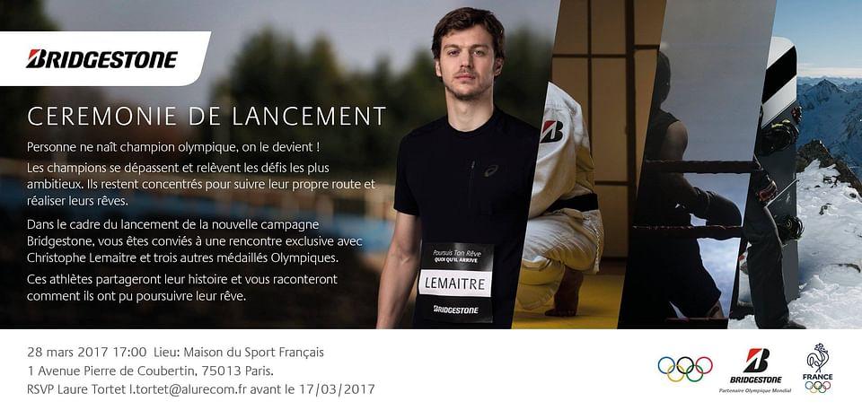 Lancement campagne sponsoring JO