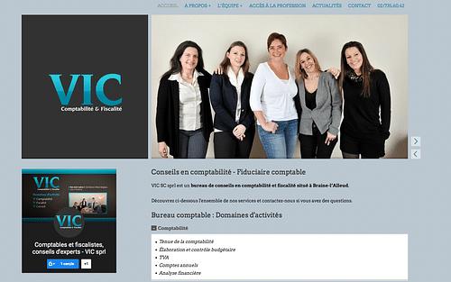 Site Internet Bureau comptable - Création de site internet