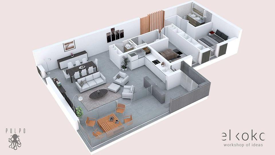 Diseño de Infografías 3D, Infoarquitectura