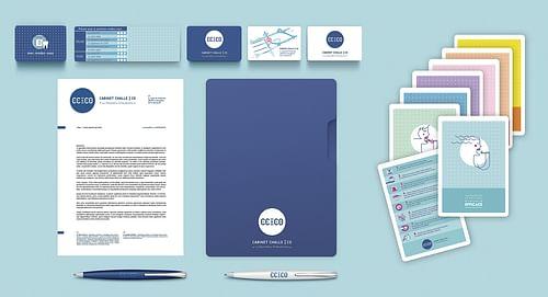 Branding pour clinique d'othodontie - Design & graphisme