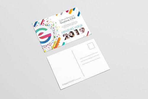 Academie de Versaille - Charte graphique lycée G.E - Design & graphisme