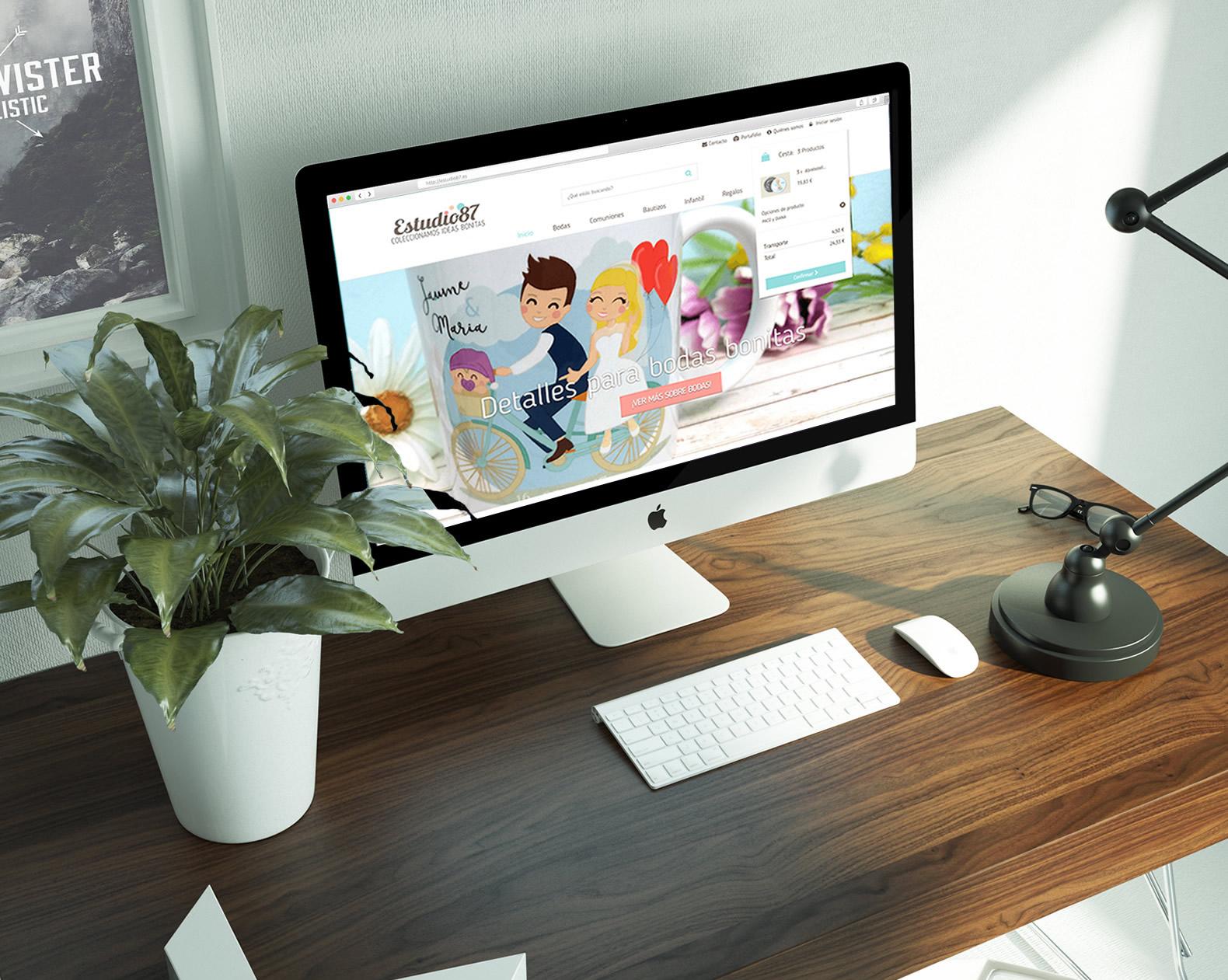 Estudio 87 - Creación de Sitios Web