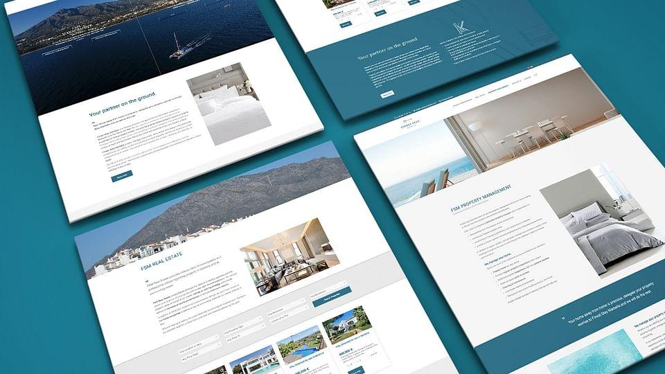 Diseño web para Finest Stay Mabella