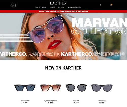 E-Commerce Karther Co - Creación de Sitios Web