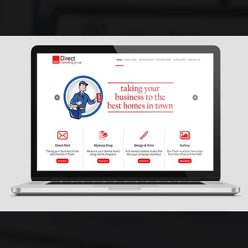 Website Creation for a Direct Marketing Group - Website Creation