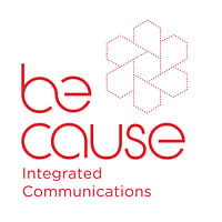 Be-cause Integrated Communications logo