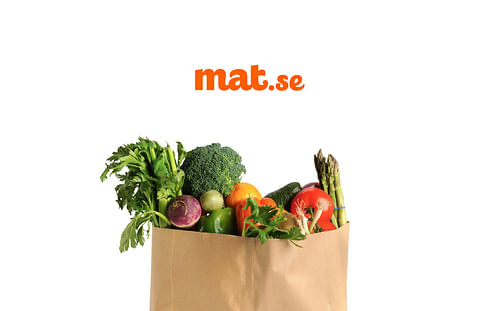 Mat.se Website UI Design - Branding & Positioning