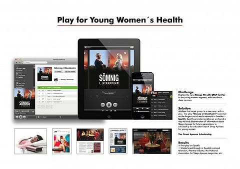 PLAY FOR YOUNG WOMEN'S HEALTH!