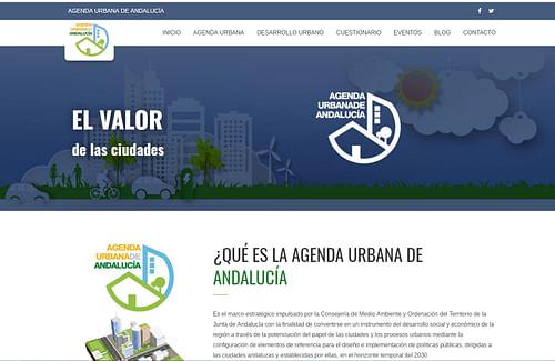 Congreso Agenda Urbana de Andalucía - Diseño Gráfico