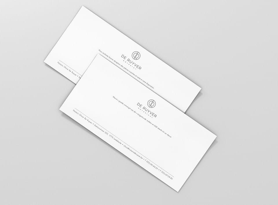 De Ruyver: logo, brand identity, business cards,..