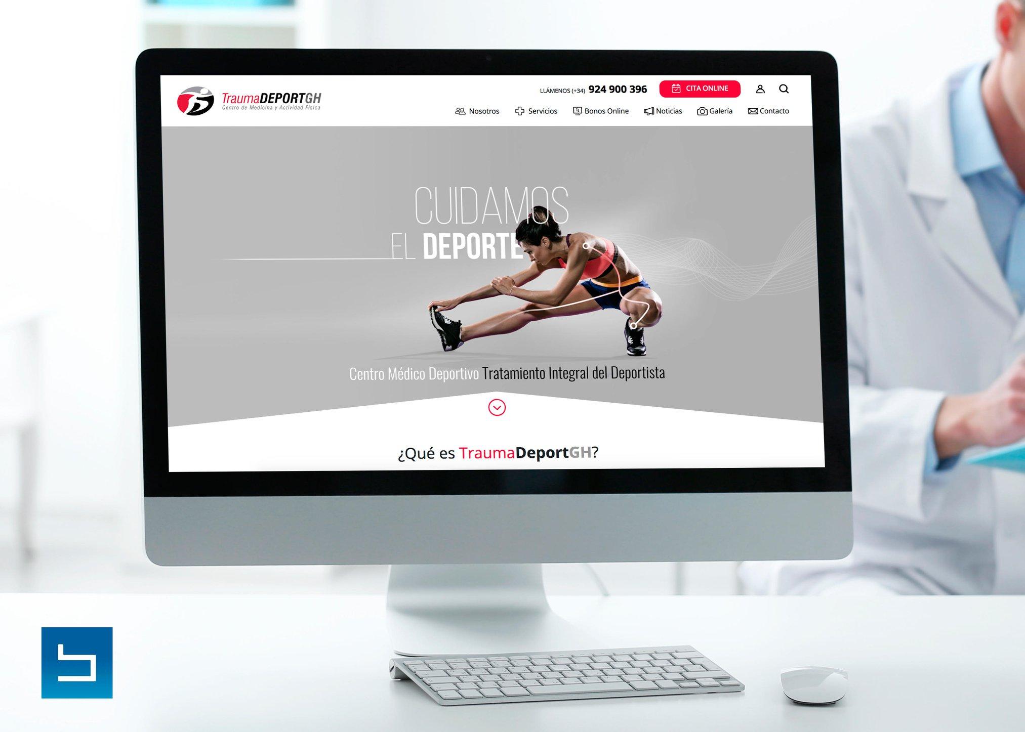 TraumaDeport GH - Creación de Sitios Web