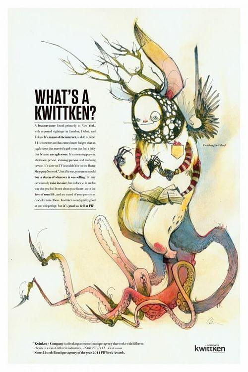 WHAT'S A KWITTKEN? - Advertising