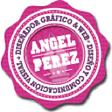 Angel, diseño y comunicación visual logo