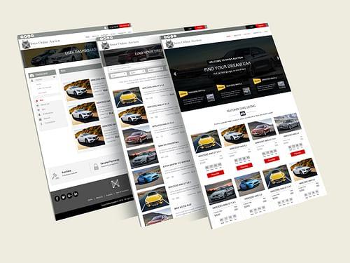 Auction Web App - Web Application