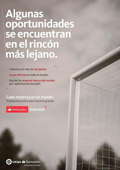 Santander Empresas - Publicidad