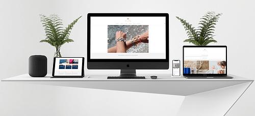 Ylume - Créateur de Bijoux - Création de site internet