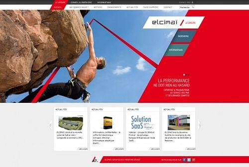 Elcimaï - Création de site internet