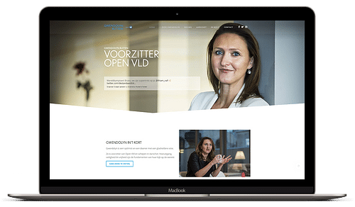 Gwendolyn Rutten - Website Creatie