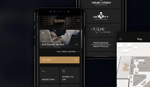 SIHH International Salon of Fine Watchmaking - App - Application mobile