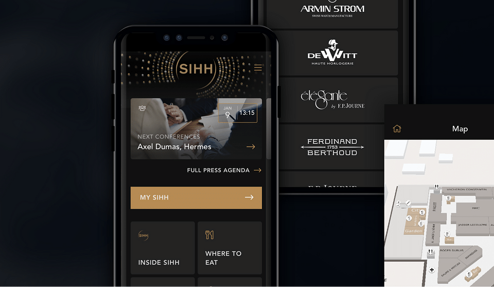 SIHH International Salon of Fine Watchmaking - App