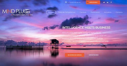 Création d'un site vitrine et offres d'emploi - Création de site internet