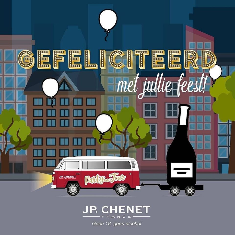 JP. Chenet party on tour