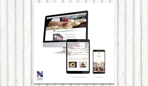 Crétion de site web pour un restaurant - Design & graphisme