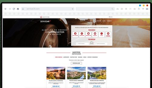 Sistema de Gestion para Servicar25 - Creación de Sitios Web
