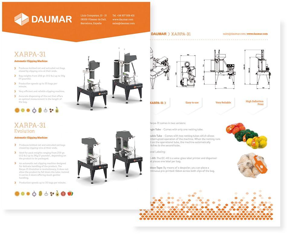 Website y diseño gráfico para empresa tecnológica